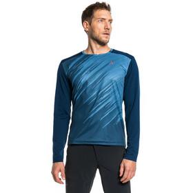 Schöffel Altitude Longsleeve Shirt Men, niebieski